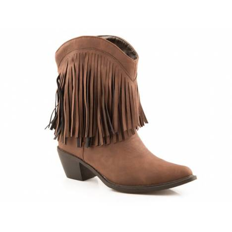 Roper Makinz Fringe Shorty Fashion Boot- Ladies