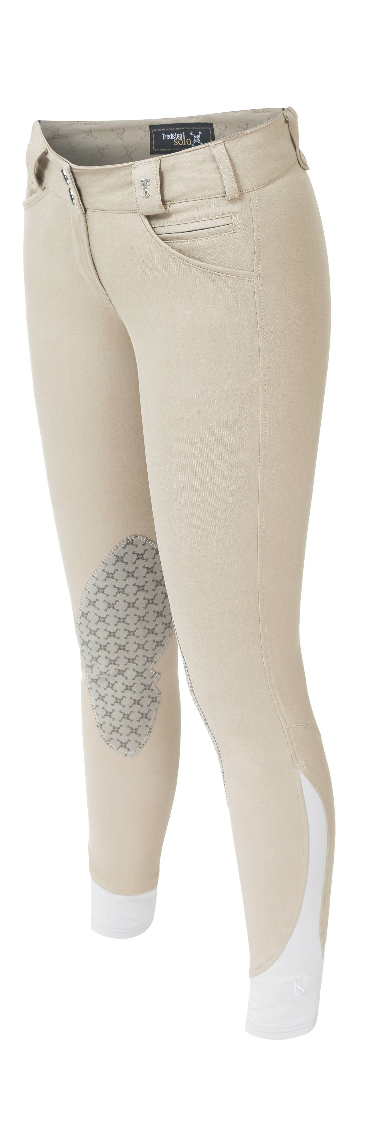 Tredstep Solo Grip Knee Patch Breech- Ladies
