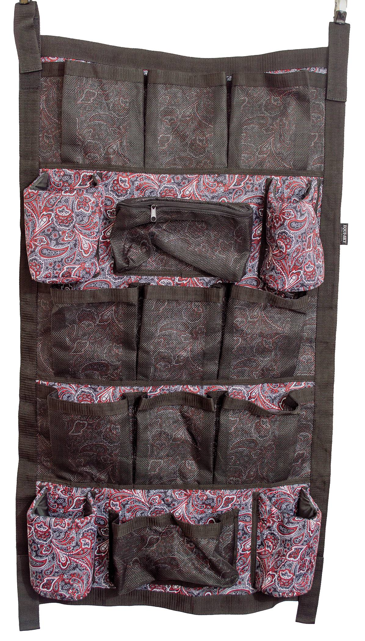 Equi-Sky Paisley Ultimate Trailer Door Caddy - Large