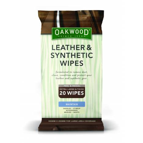 Nunn Finer Oakwood Leather & Synthetic Wipes