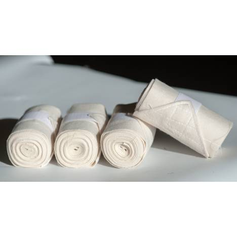 Nunn Finer Vac's Flannel Bandages With hook & loop fastener - Set Of 4