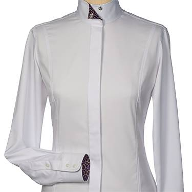 Essex Classics Swirl Fitted Show Shirt - Ladies