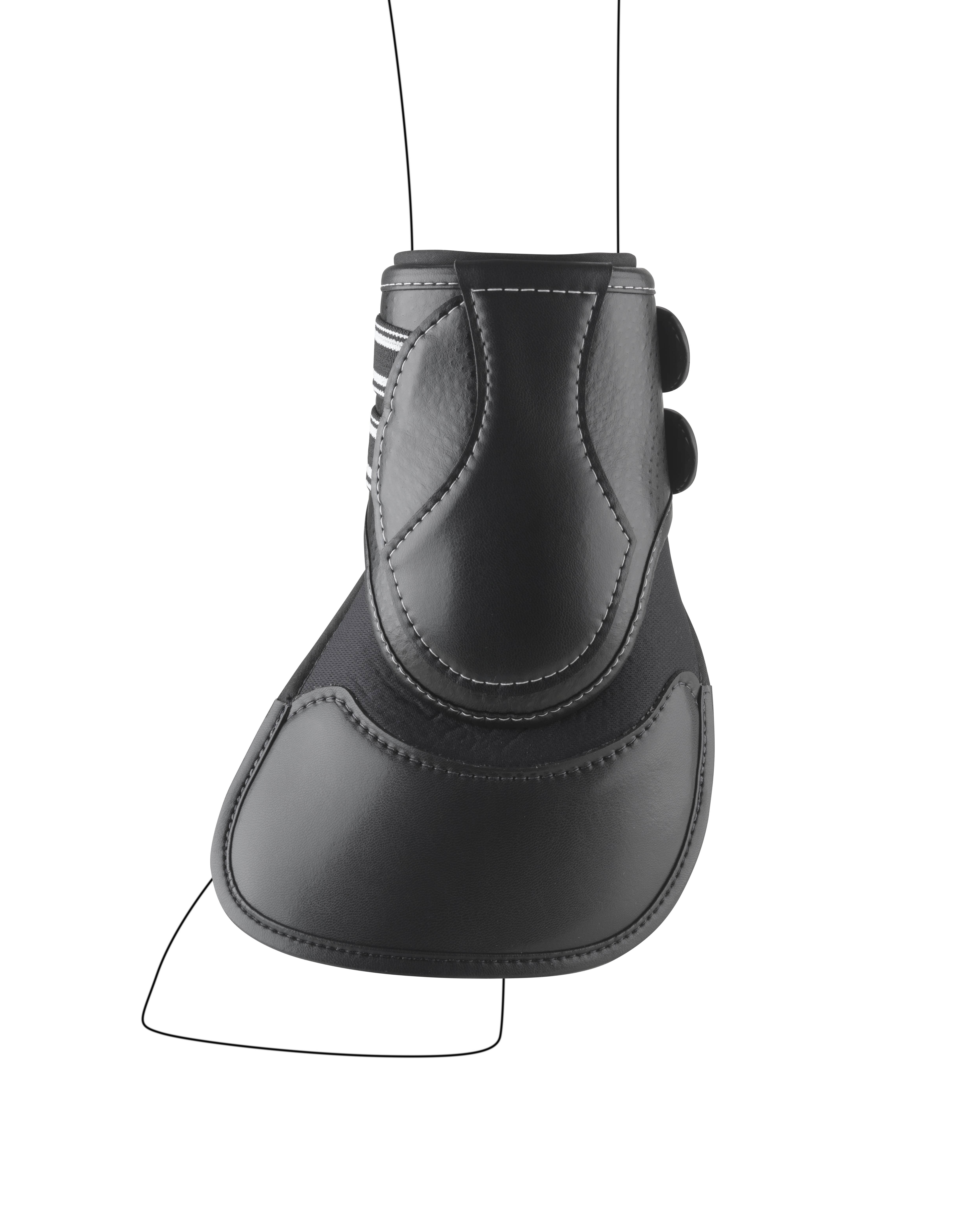 Equifit Extended Hind D-Teq Boots - Full Coverage