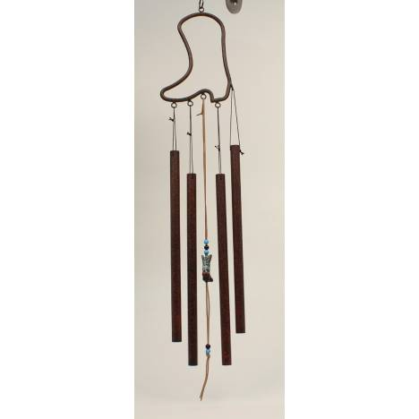 Boot Cut Out Wind Chime