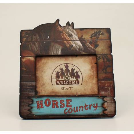 Horse Country Picture Frame