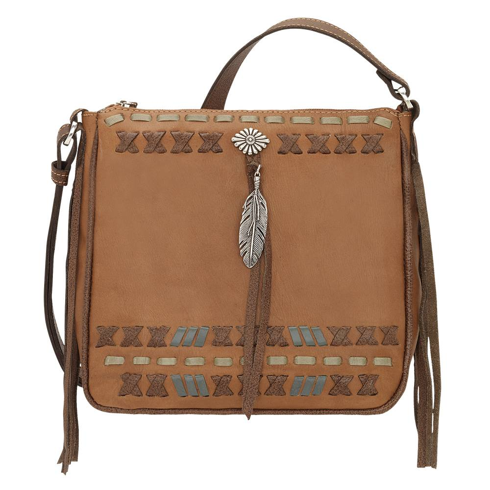 American West Mohican Melody All Access Crossbody Bag