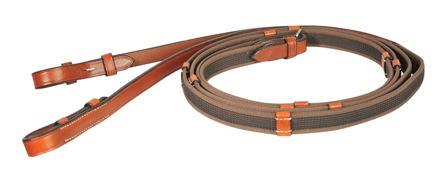 Treadstone Richtan Plus Super Grip Reins with Stud Hooks
