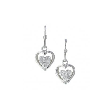 Montana Silversmiths Pulsing Heart Earrings