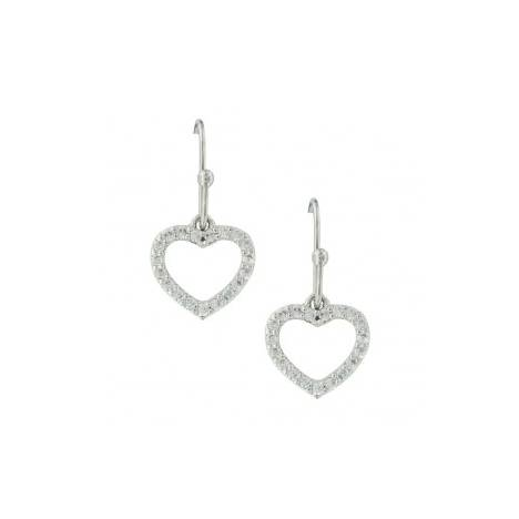 Montana Silversmiths Heart Frame Earrings