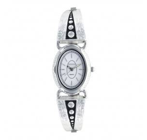 Montana Silversmiths Silver Pin Points Expansion Band Watch