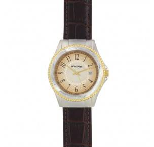 Montana Silversmiths Bark Leather Watch - Brown