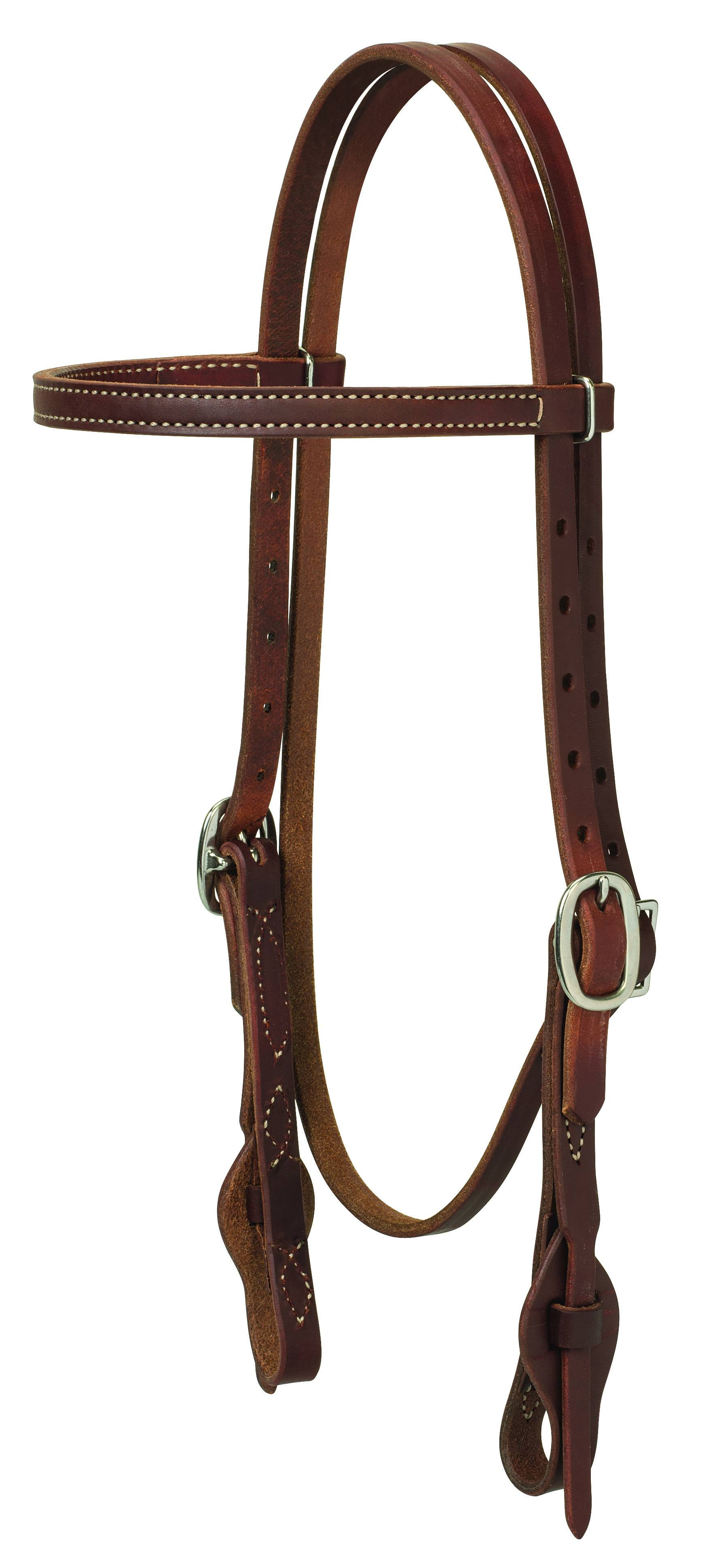 Weaver Working Cowboy Quick Change Browband Headstall