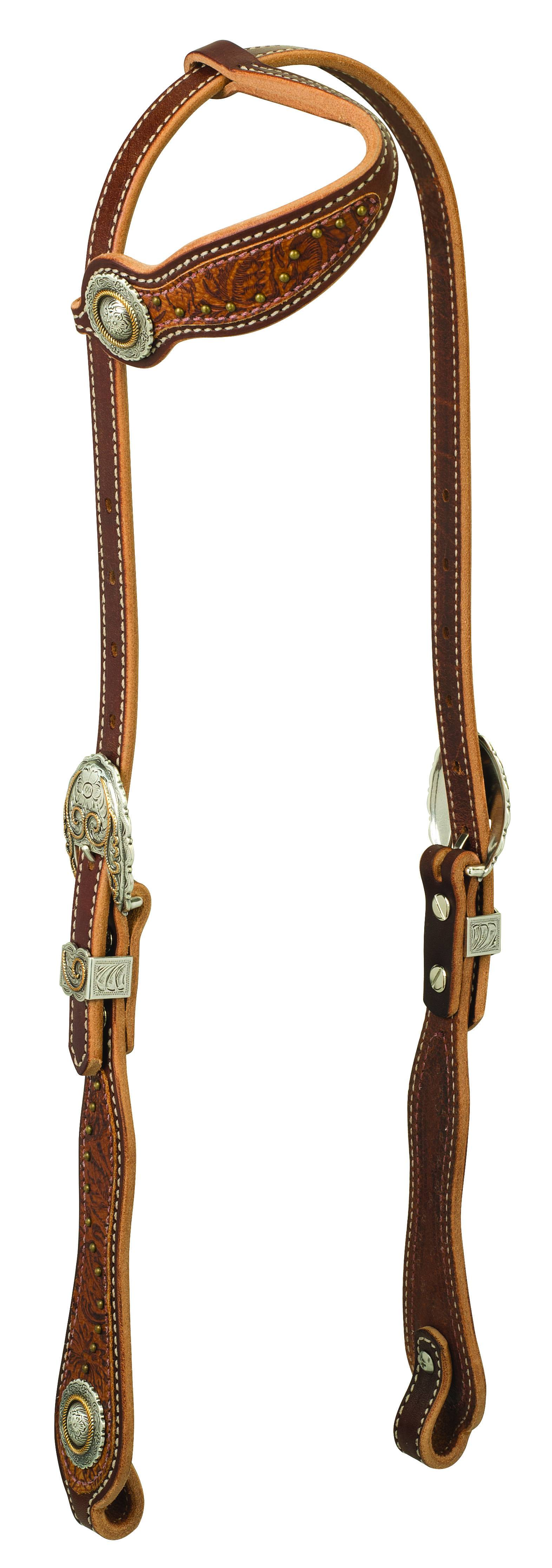 Weaver Western Edge Sliding Ear Headstall