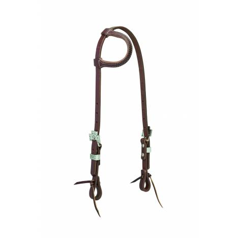Weaver Working Cowboy Sliding Ear Cross Headstall
