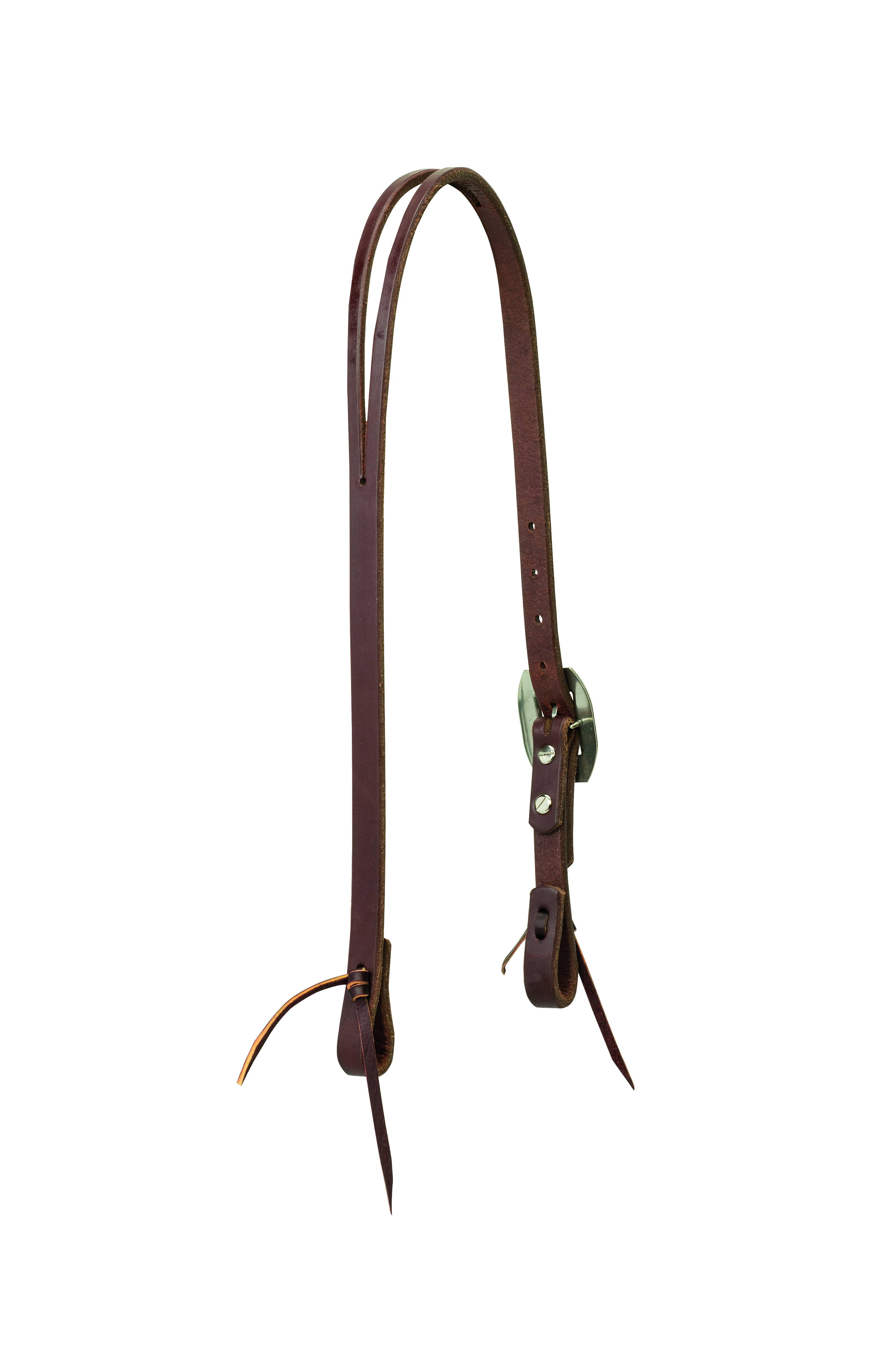 Weaver Working Cowboy Slit Ear Rope Edge Headstall