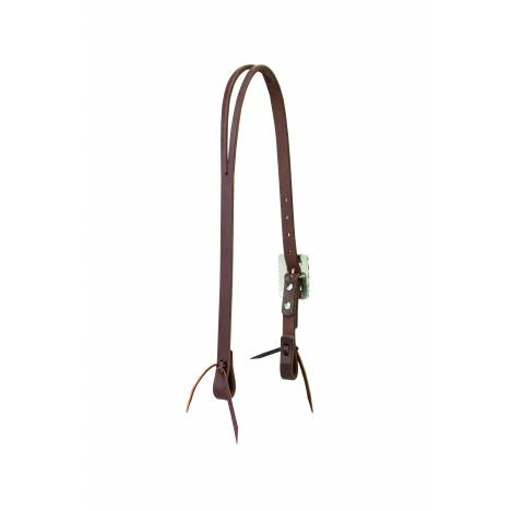 Weaver Working Cowboy Slit Ear Scalloped Headstall