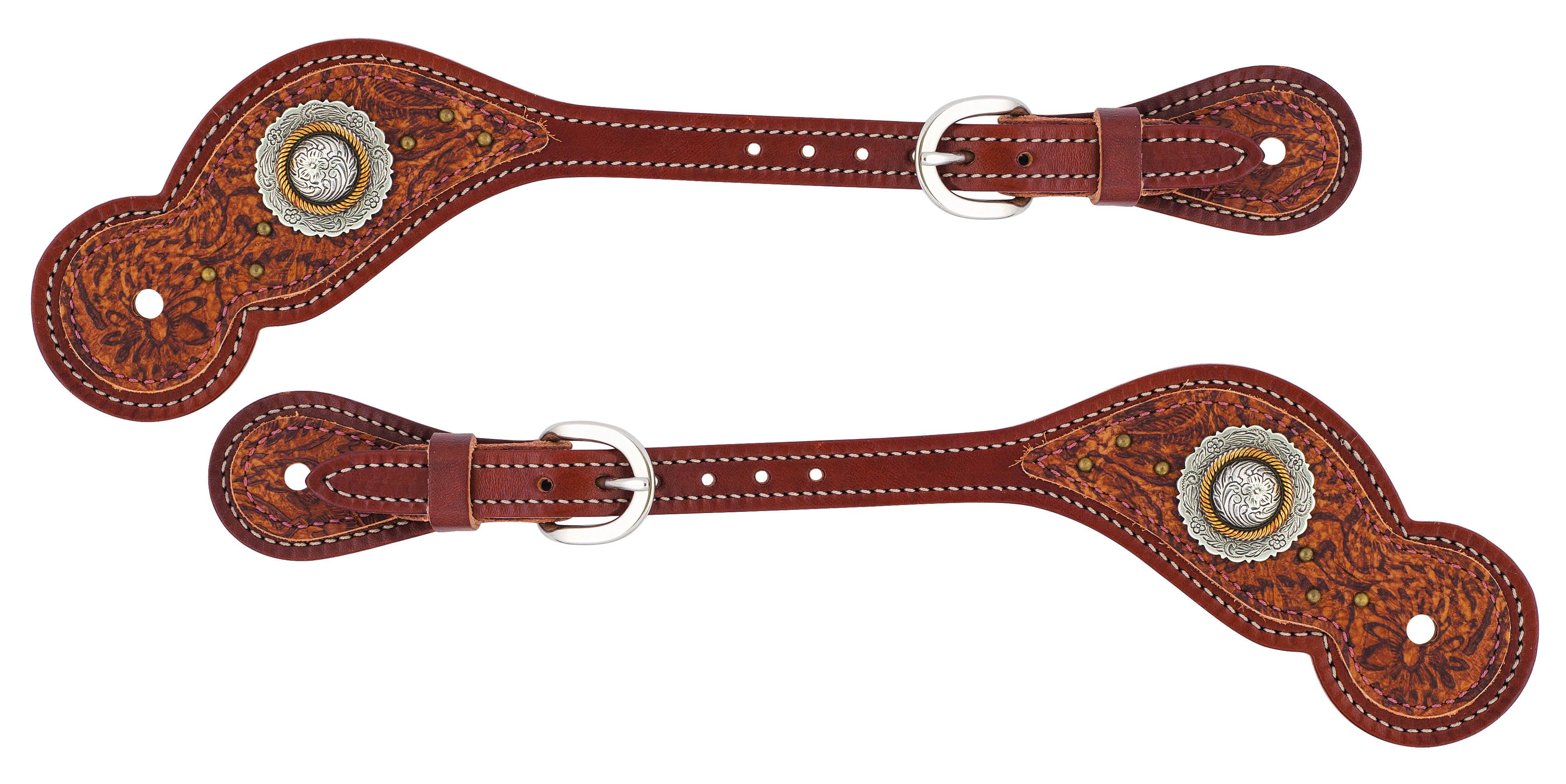 Weaver Western Edge Regular Spur Straps