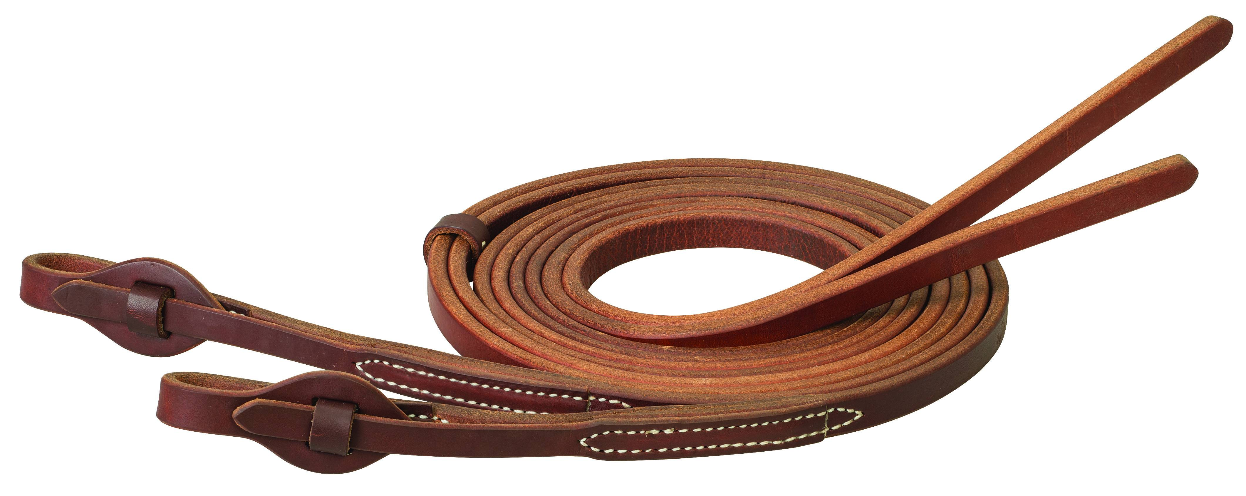 Weaver Working Cowboy Extra Heavy Harness Leather Quick Change Split Reins
