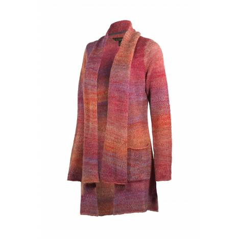 Noble Outfitters Ombre Scarf Sweater- Ladies
