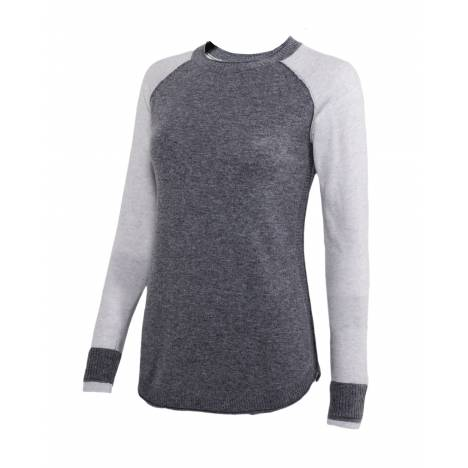 Noble Outfitters Homerun Crew Sweater- Ladies