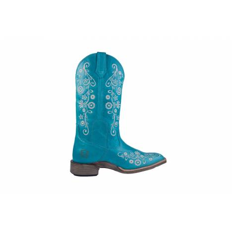 Noble Outfitters All Around Frontier Boot- Ladies, Square Toe, Floral