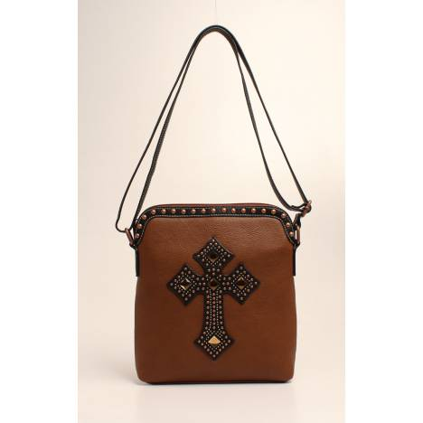 Nocona Delilah Nailhead And Cross Messenger