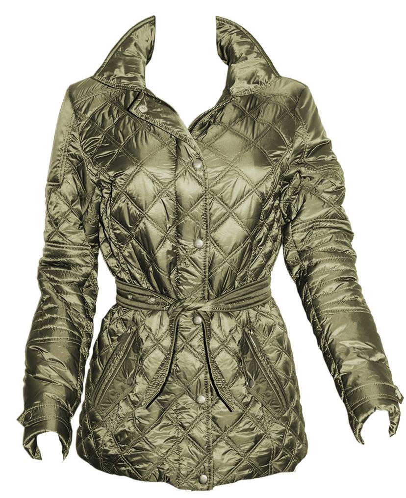 FITS Frankie Quilted Jacket - Ladies - Olive