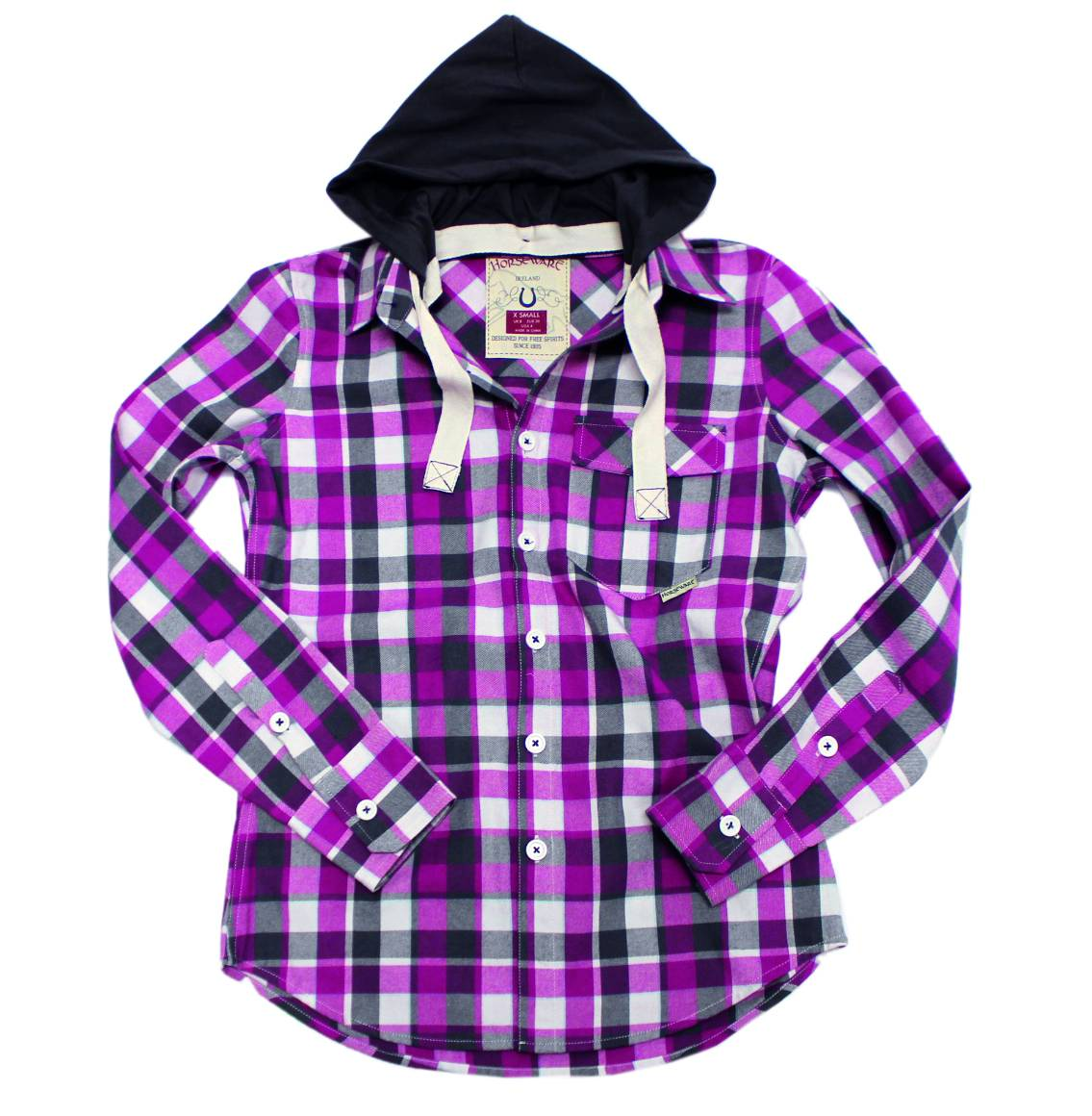 Horseware Ena Check Shirt - Ladies