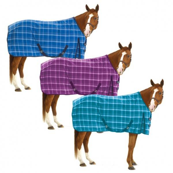 Equiessentials EZ-Care Plaid Stable Sheet