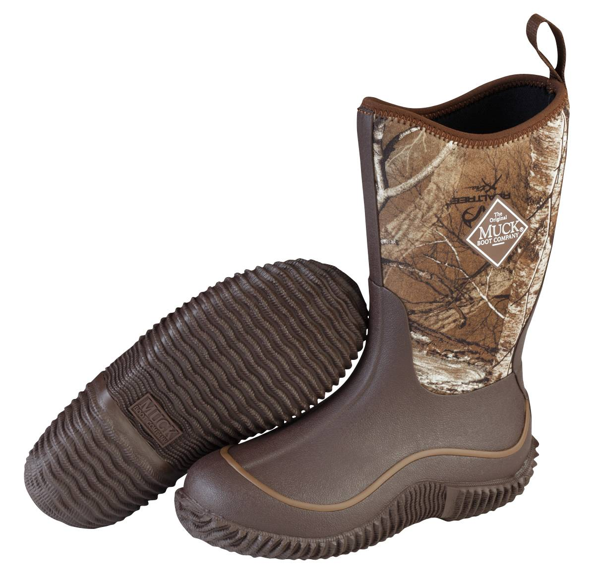 Muck Boots Hale Boots - Kids - Chocolate Brown Realtree Xtra