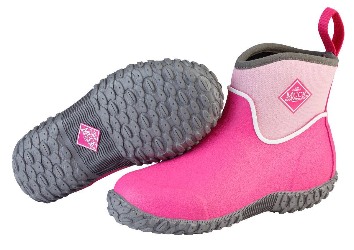 Muck Boots Muckster II Ankle Boots - Kids - Pink