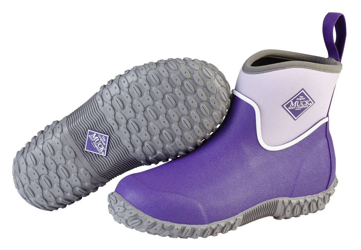 Muck Boots Muckster II Ankle Boots - Kids - Purple