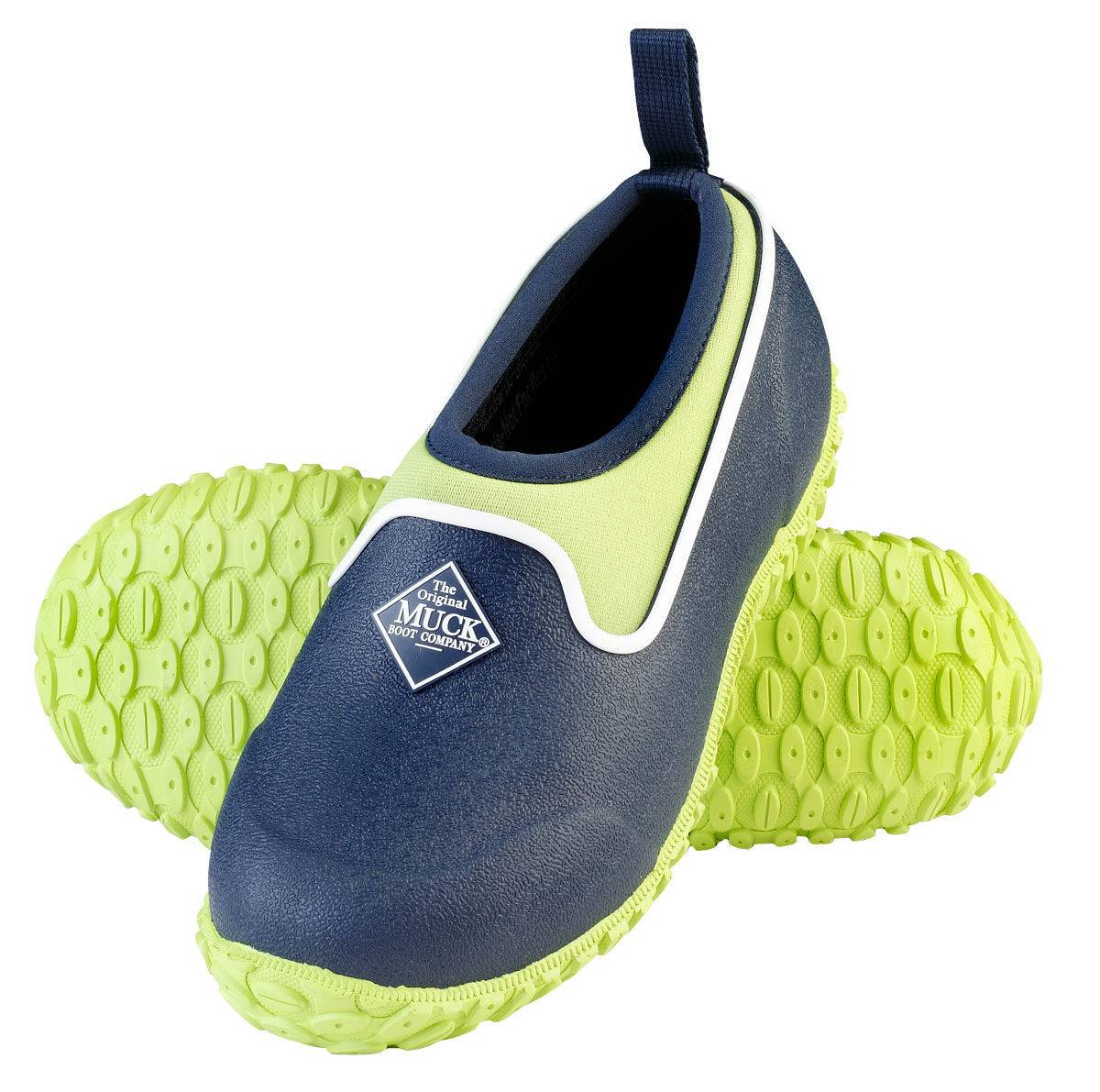Muck Boots Muckster II Low Boots - Kids - Navy Lime