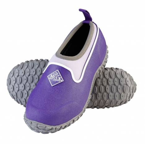 Muck Boots Muckster II Low Boots - Kids - Purple