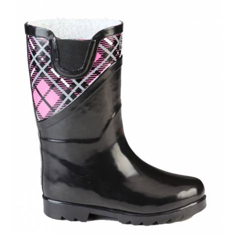 Muck Boots Cozy Classic Puddleton - Kids - Pink Plaid