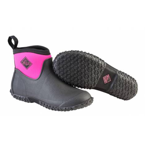 Muck Boots Muckster II Ankle Boots - Ladies - Black Pink