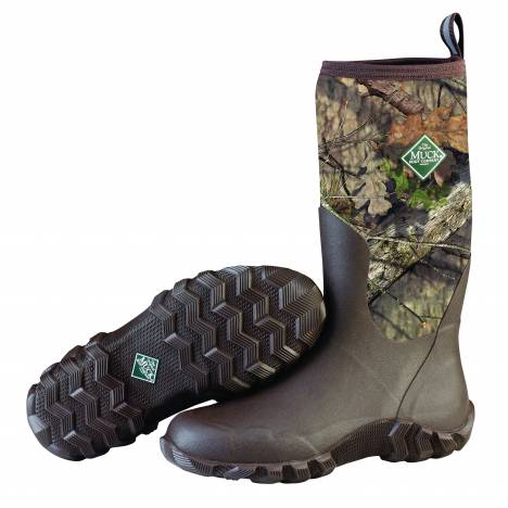 Muck Boots Woody Blaze Cool Boots - Mens - Mossy Oak Country