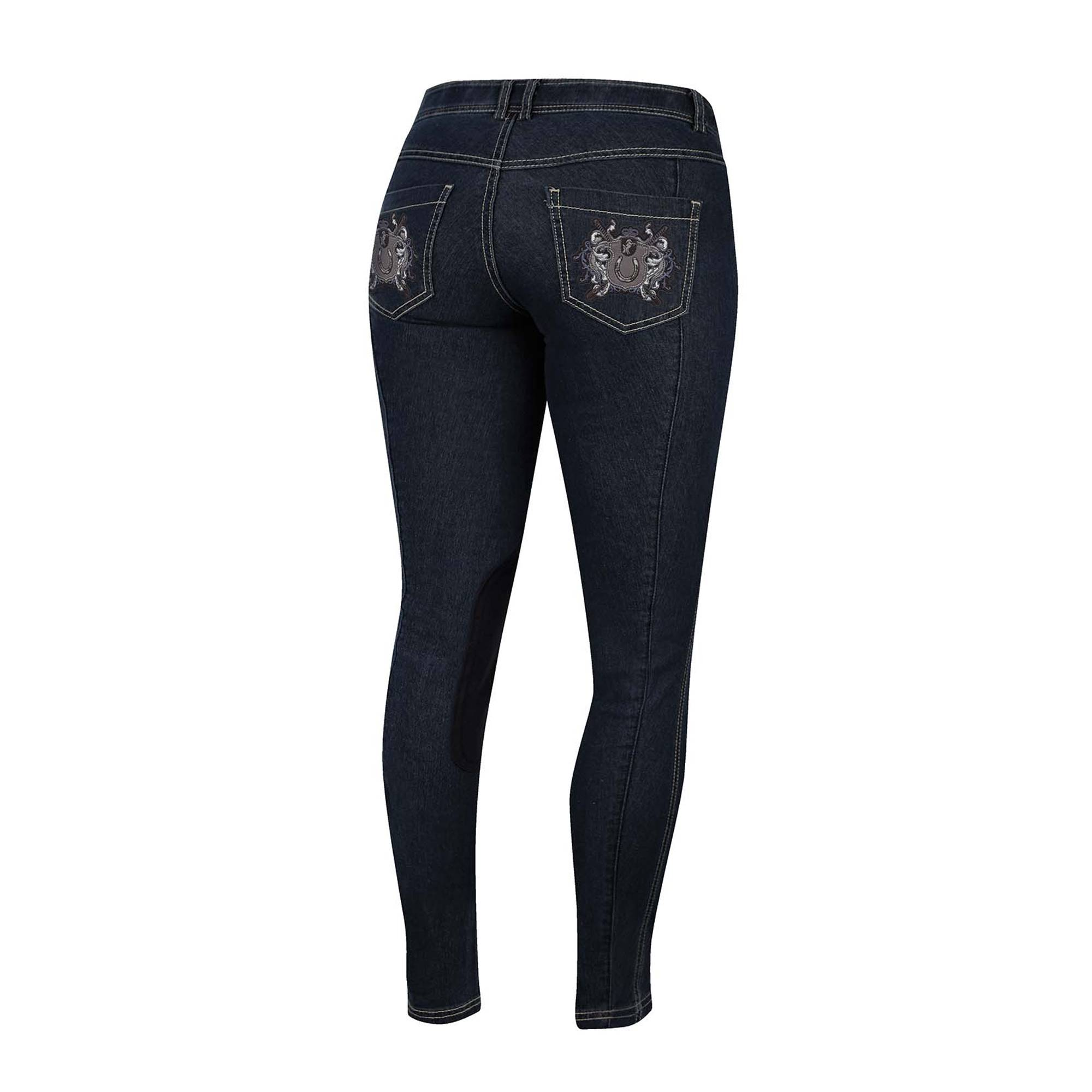 Irideon Royal Crest Denim Stretch Breech- Ladies