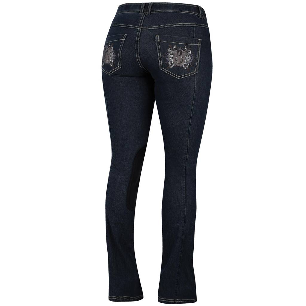 Irideon Royal Crest Denim Stretch Bootcut Breech- Ladies