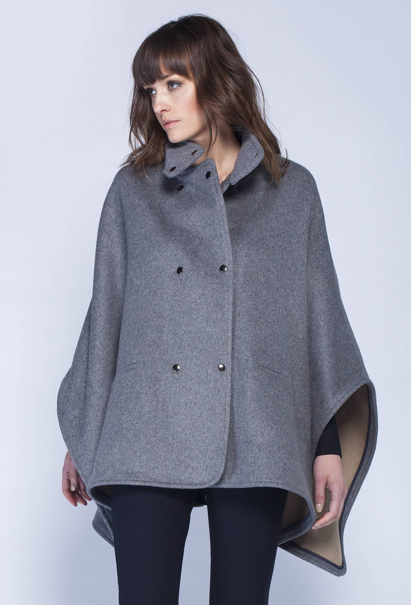 Asmar Melton Cape - Ladies