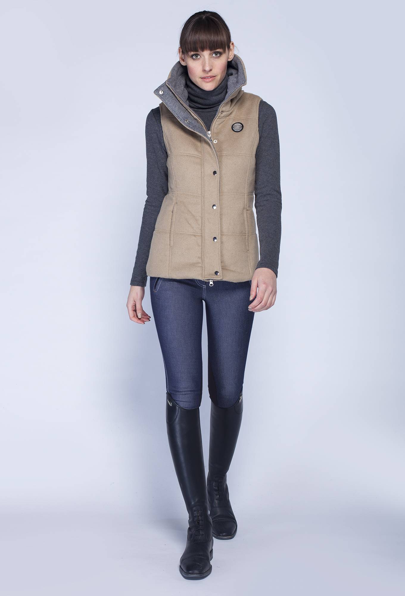 Asmar Melton Vest - Ladies
