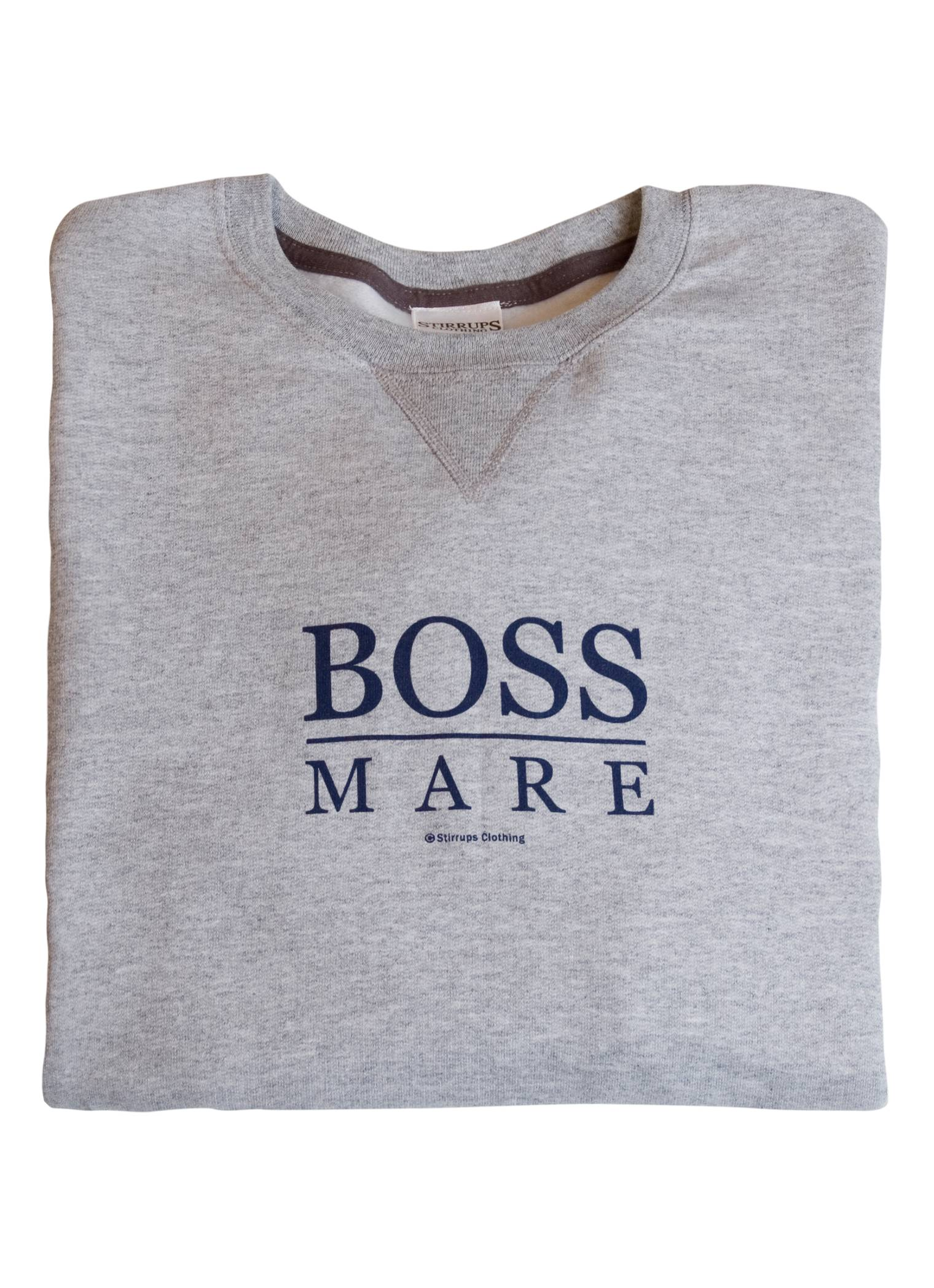 Stirrups Boss Mare Crewneck Sweatshirt - Ladies