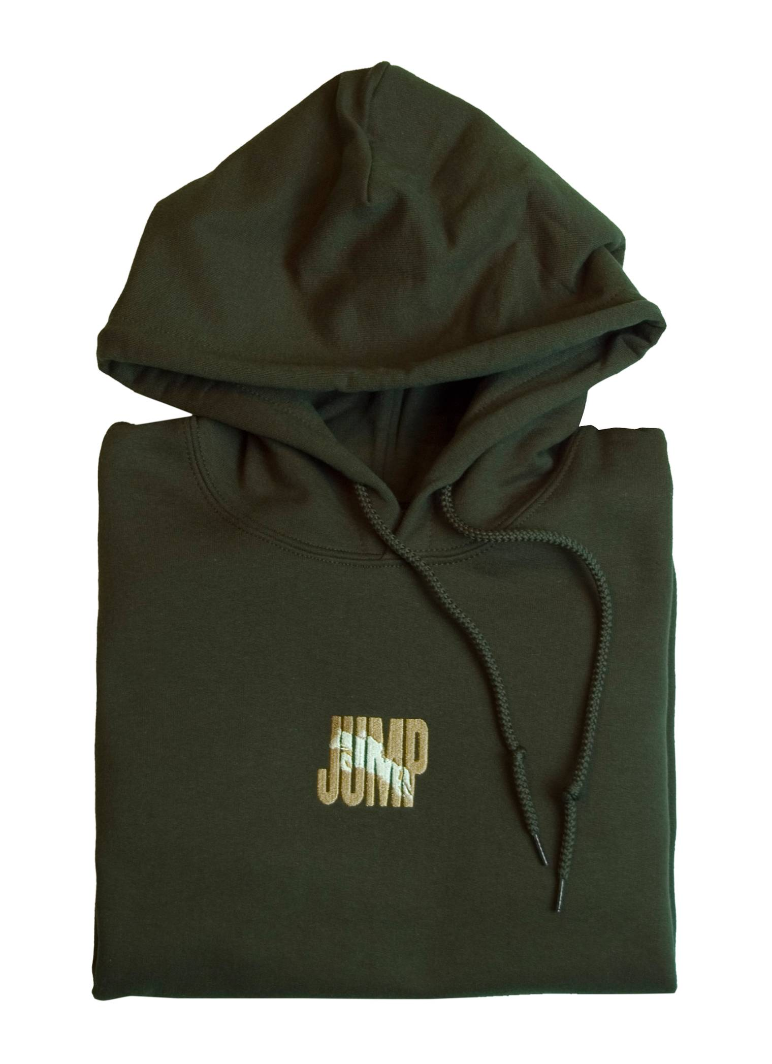 Stirrups Jump Embriodered Hooded Sweatshirt - Ladies