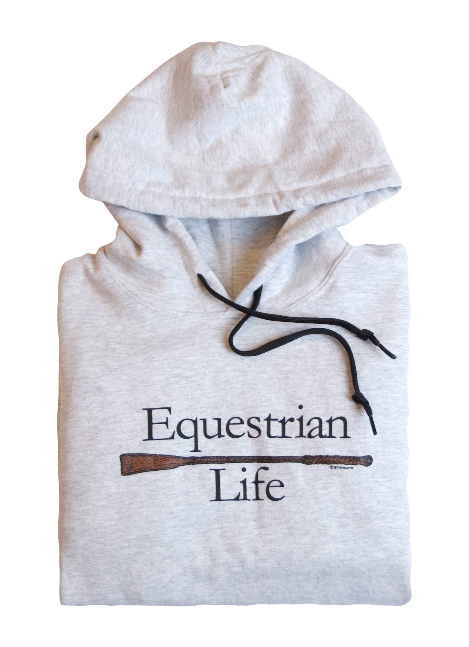 Stirrups Equestrian Life Hooded Sweatshirt - Ladies