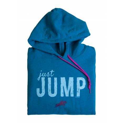 Stirrups Just Jump Hooded Sweatshirt - Ladies