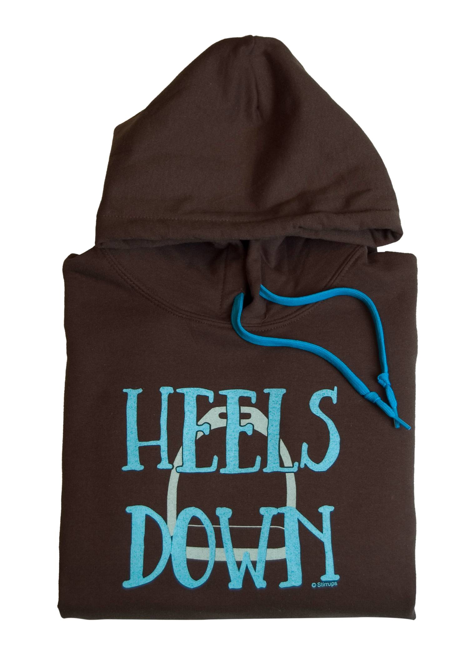 Stirrups Heels Down Hooded Sweatshirt - Ladies