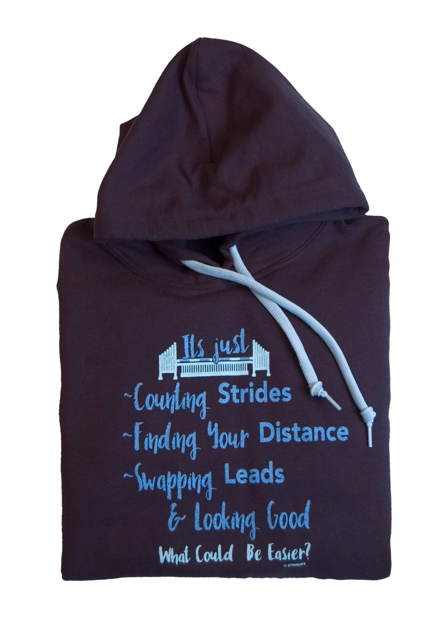 Stirrups Counting Strides Hooded Sweatshirt - Ladies