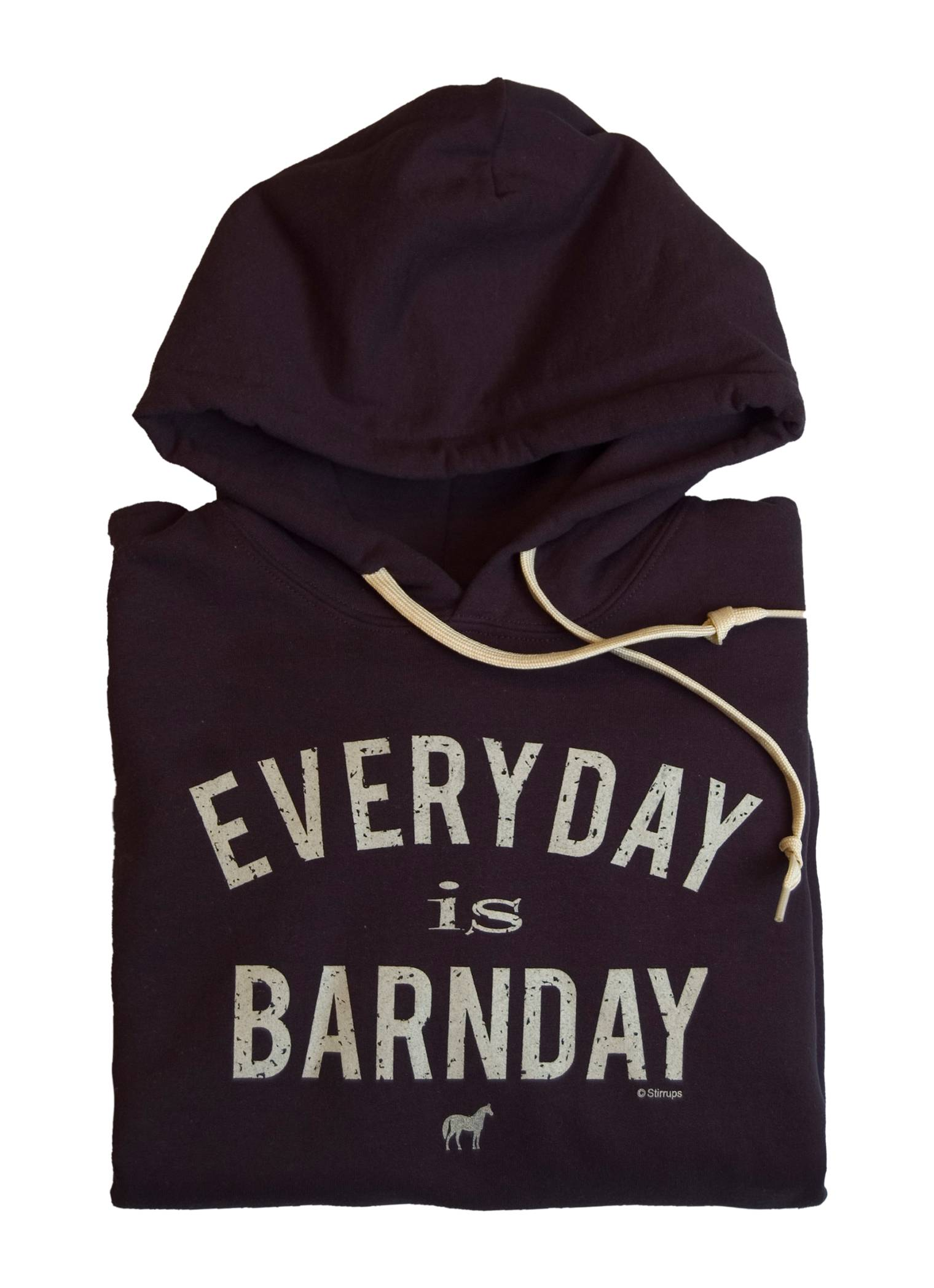 Stirrups Everyday Is Barnday Hooded Sweatshirt - Ladies