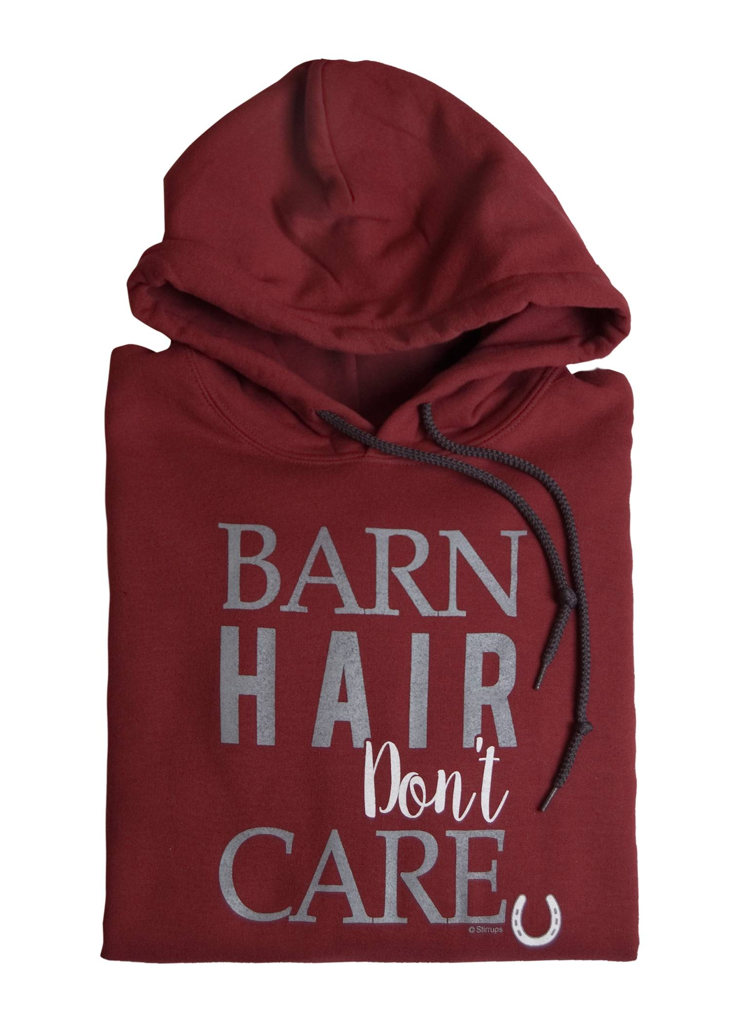 Stirrups Barn Hair Dont Care Hooded Sweatshirt - Ladies
