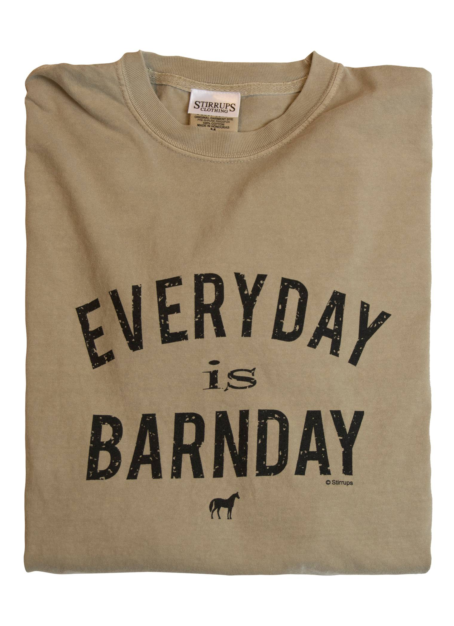 Stirrups Everyday Is Barn Day Long Sleeve Comfort Tee - Ladies